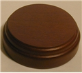 Masonic Sound Block - Solid Round Walnut