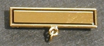 Masonic Gold Plate Bar Top