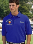 Texas Blue Lodge Masonic Golf Shirt with Pocket