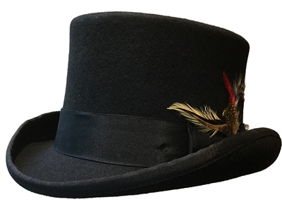Masonic Wool Top Hat