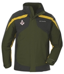 Columbia Men's Eager Air 3-in-1 Jacket with emblem