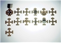 Scottish Rite Officer Jewels - Set of 13