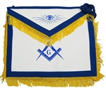Masonic Master Mason Apron with Fringe