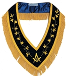 Masonic Velvet Collar - Purple w/ Gold Hand Bullion