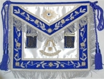 Past Master Apron in Gold & Silver Non-Tarnish