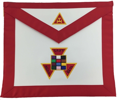 Royal Arch Past High Priest Leather Apron