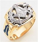 Masonic Ring - 3171  Gold