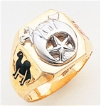 Masonic Shrine Ring Macoy Publishing Masonic Supply 3256