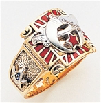 Masonic Shrine Ring Macoy Publishing Masonic Supply 3257