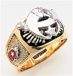 Masonic Shrine Ring Macoy Publishing Masonic Supply 3258