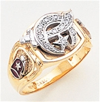 Masonic Shrine Ring Macoy Publishing Masonic Supply 3263