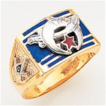 Masonic Shrine Ring Macoy Publishing Masonic Supply 3264
