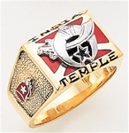 Masonic Shrine Ring Macoy Publishing Masonic Supply 3266