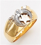 Masonic Shrine Ring Macoy Publishing Masonic Supply 3269BL
