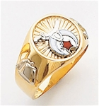 Masonic Shrine Ring Macoy Publishing Masonic Supply 3270