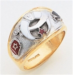 Masonic Shrine Ring Macoy Publishing Masonic Supply 3273