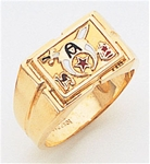 Masonic Shrine Ring Macoy Publishing Masonic Supply 3274