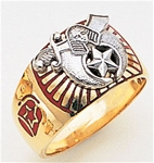 Masonic Shrine Ring Macoy Publishing Masonic Supply 3282