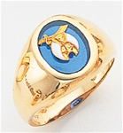 Masonic Shrine Ring Macoy Publishing Masonic Supply 3287