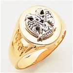 Masonic 32 Degree Scottish Rite Ring Macoy Publishing Masonic Supply 3363