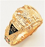 Masonic 32 Degree Scottish Rite Ring Macoy Publishing Masonic Supply 3366
