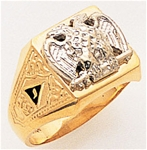 Masonic 32 Degree Scottish Rite Ring Macoy Publishing Masonic Supply 3367