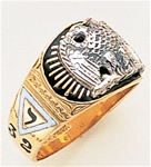 Masonic 32 Degree Scottish Rite Ring Macoy Publishing Masonic Supply 3368
