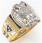 Masonic 32 Degree Scottish Rite Ring Macoy Publishing Masonic Supply 3370