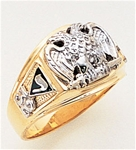 Masonic 32 Degree Scottish Rite Ring Macoy Publishing Masonic Supply 3371