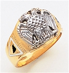 Masonic 32 Degree Scottish Rite Ring Macoy Publishing Masonic Supply 3377