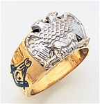 Masonic 32 Degree Scottish Rite Ring Macoy Publishing Masonic Supply 3379