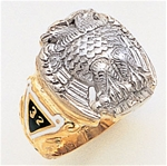 Masonic 32 Degree Scottish Rite Ring Macoy Publishing Masonic Supply 3380