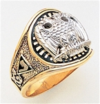 Masonic 32 Degree Scottish Rite Ring Macoy Publishing Masonic Supply 3383