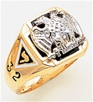 Masonic 32 Degree Scottish Rite Ring Macoy Publishing Masonic Supply 3390