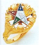 Order of the Eastern Star Ring Macoy Publishing Masonic Supply 3391