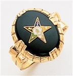 Order of the Eastern Star Ring Macoy Publishing Masonic Supply 3393