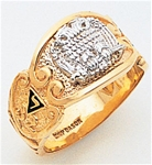 Masonic 32 Degree Scottish Rite Ring Macoy Publishing Masonic Supply 3423