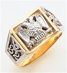 Masonic 32 Degree Scottish Rite Ring Macoy Publishing Masonic Supply 3427