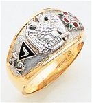 Masonic 32 Degree Scottish Rite Ring Macoy Publishing Masonic Supply 3428