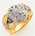 Masonic 32 Degree Scottish Rite Ring Macoy Publishing Masonic Supply 3430