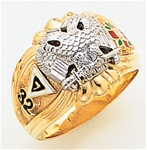 Masonic 32 Degree Scottish Rite Ring Macoy Publishing Masonic Supply 3434