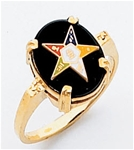Order of the Eastern Star Ring Macoy Publishing Masonic Supply 3441