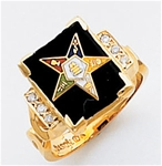Order of the Eastern Star Ring Macoy Publishing Masonic Supply 3448