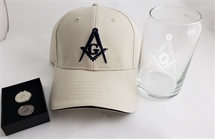MASONIC CAP GIFT SET