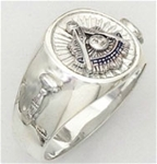 Past Master ring - 5034 - Sterling Silver