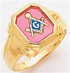 Masonic Ring - 5057 - Open Back