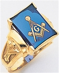 Masonic Ring - 5061 - solid back