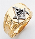 Masonic Ring Macoy Publishing Masonic Supply 5094SBL