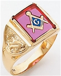Masonic Ring - 5103 - open back