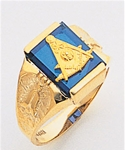 Past Master Ring Macoy Publishing Masonic Supply 5136BL